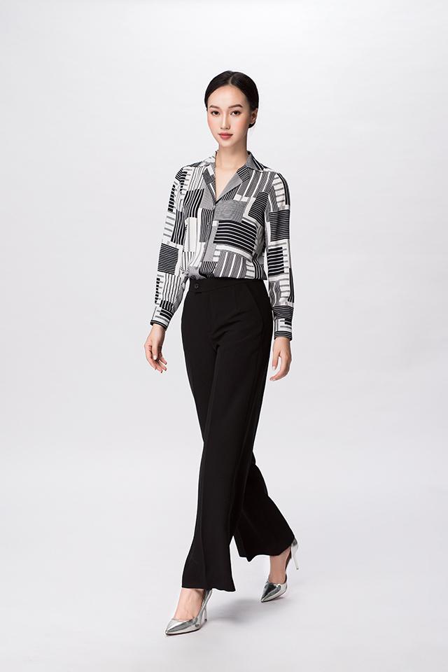 Áo sơ mi nữ cổ vest, áo sơ mi nữ dẹp nhất 2020